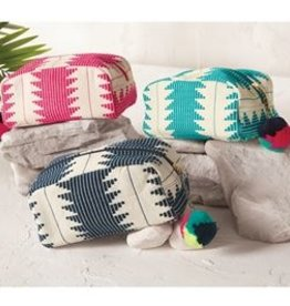 Mud Pie Aztec Cosmetic Case