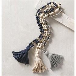 Jersey Tassel Necklace