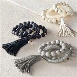 Wooden Tassel Bracelet