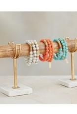 Mud Pie Marble Bracelet Set