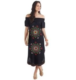 Mud Pie Elena Maxi Dress Navy