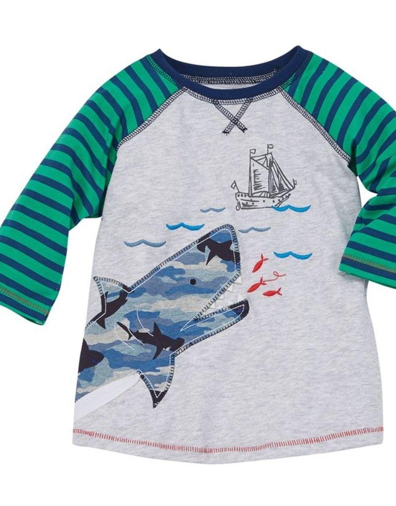 Mud Pie Shark T-shirt