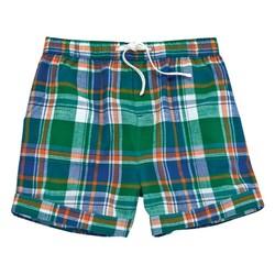 Green Plaid Shorts