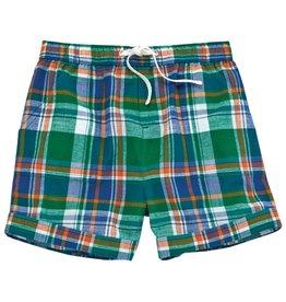 Mud Pie Green Plaid Shorts