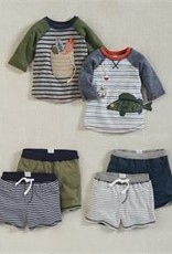 Mud Pie Navy Reversible Shorts