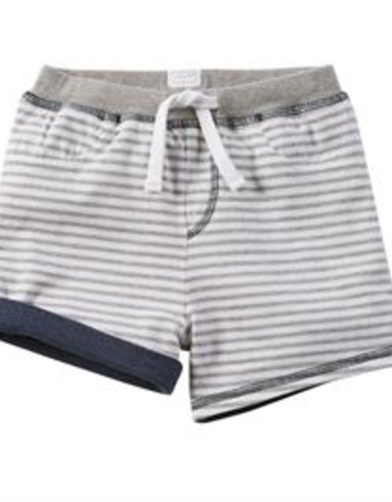 Mud Pie Grey Reversible Shorts