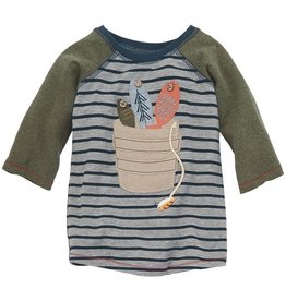 Mud Pie Bucket Gone Fishing Tshirt