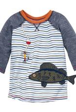 Mud Pie Fish Gone Fishing Tshirt