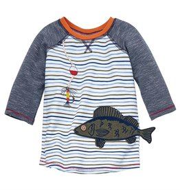 Mud Pie Fish Gone Fishing Tshirt