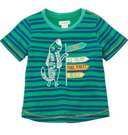 Mud Pie Blue Marco Polo Tees