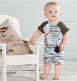 Mud Pie Gone Fishing Shortall