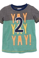 Mud Pie Yay Tshirt (2T)