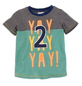 Mud Pie Yay Tshirt (2T)