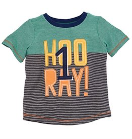 Mud Pie Hooray T-shirt (12-18 Month)
