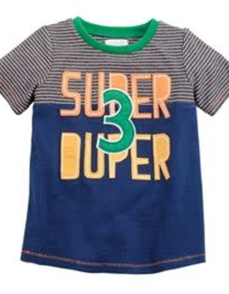 Mud Pie Super Duper Tshirt (3T)