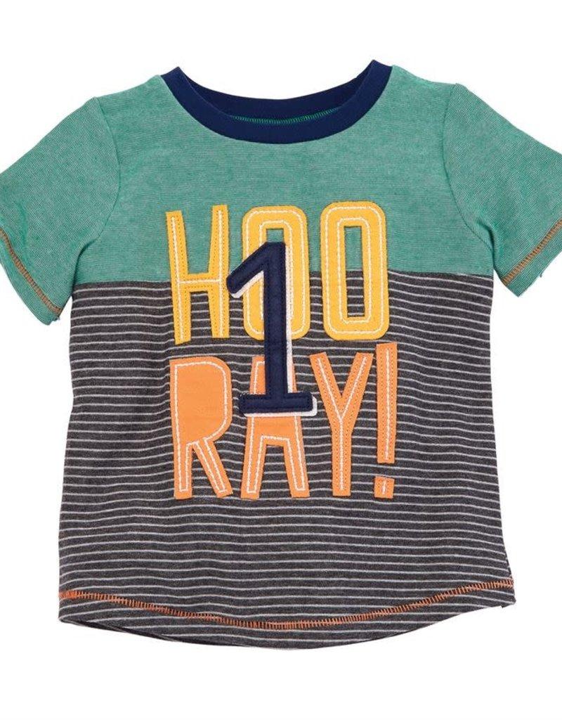Mud Pie Hooray T-shirt (12-18 Month)