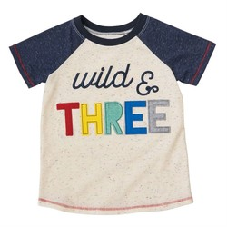 Wild and Three Shirt 3T