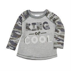 King of Cool Camo Tee