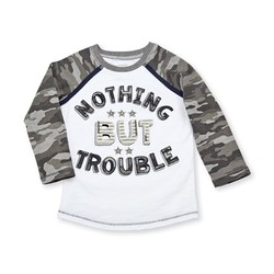 Nothing But Trouble Camo Tee