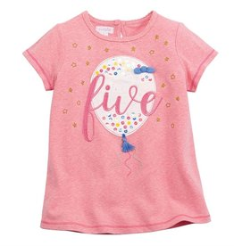 Mud Pie Five Birthday Tee (5T)