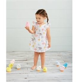 Mud Pie Muslin Farm Animals Dress