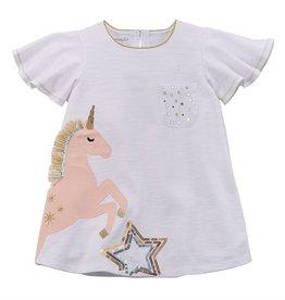Mud Pie Star Unicorn Tunic