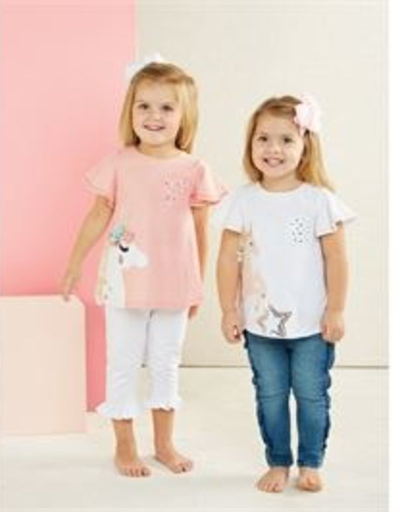Mud Pie Star Unicorn Tunic