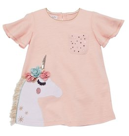 Mud Pie Flower Unicorn Tunic