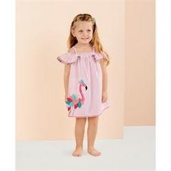 Flamingo Stripe Dress