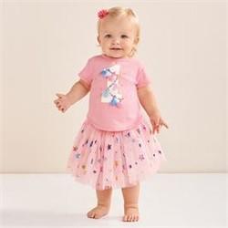 One Birthday Skirt Set (12-18 Month)
