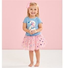 Mud Pie Two Birthday Skirt Set (2T)