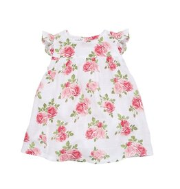 Mud Pie Muslin Rose Dress