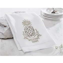 Pineapple French Knot Towel