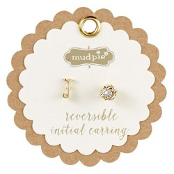 Chelsea Initial Pave Earring