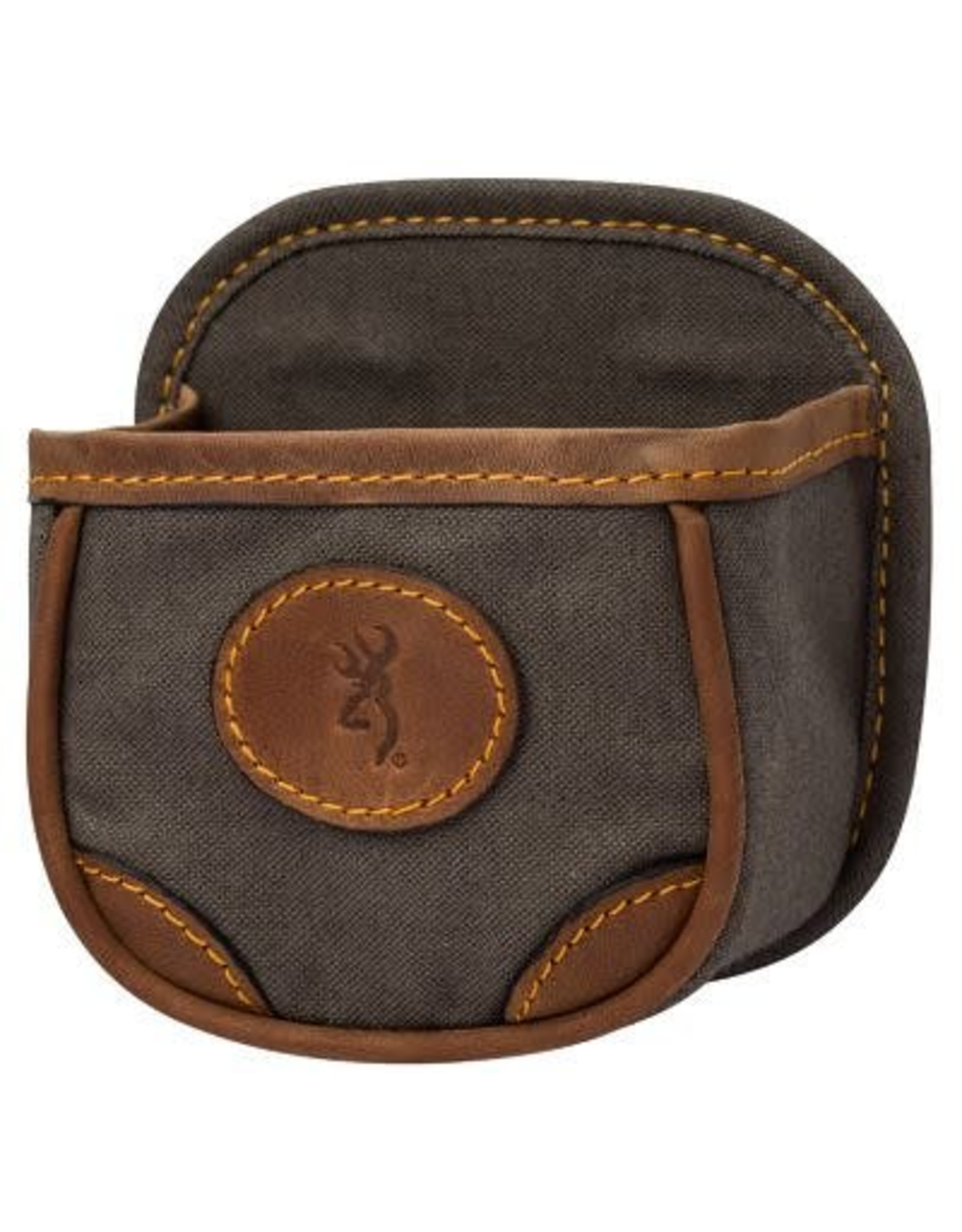 Browning Browning Lona Canvas & Leather Shell Box Carrier - Flint