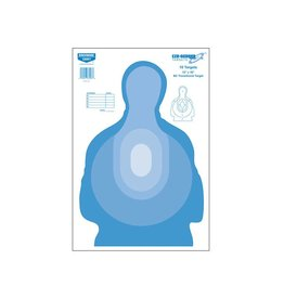 BIRCHWOOD CASEY Birchwood Casey BC Target blue EZ score