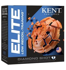 "KENT CARTRIDGE Kent Elite Low-Recoil 12 ga. 2-1/2"" 3/4 Oz. #8"