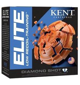 "KENT CARTRIDGE Kent Elite 12 Ga 2-1/2"", 3/4 Oz #8 Low Recoil - Case"