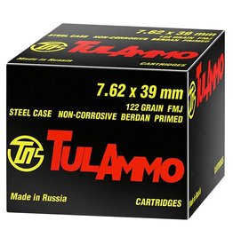 TULA Tula Ammo Target 7.62x39 122gr HP