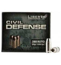 Liberty Ammunition Liberty Civil Defense .380 ACP 50gr