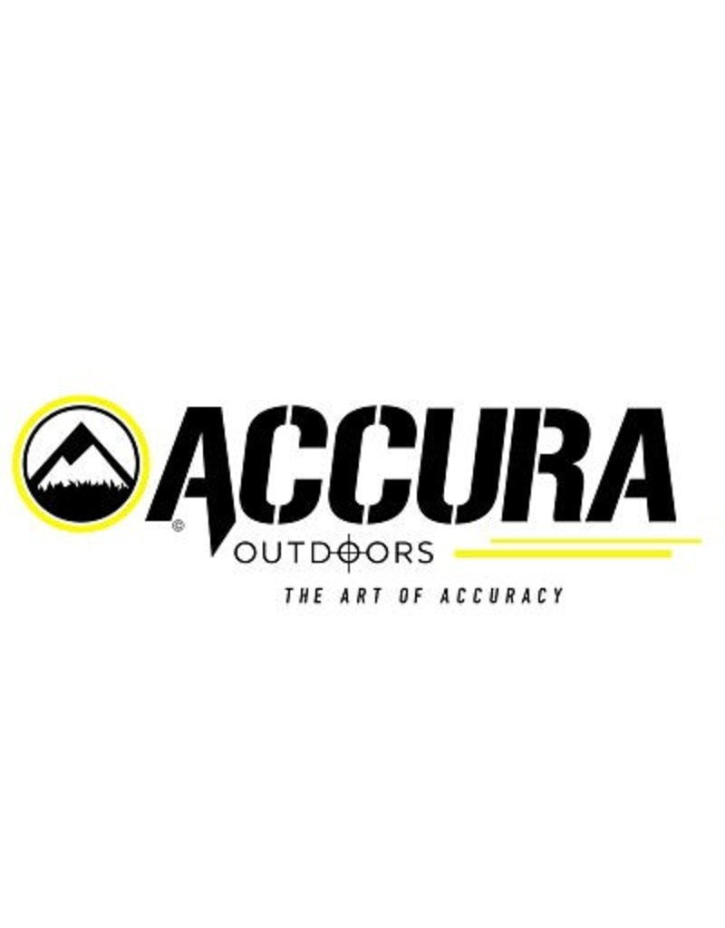 "Accura Accura Bullets .40 Cal 165 GR Flat Point .(.400"")  - 100 Count"