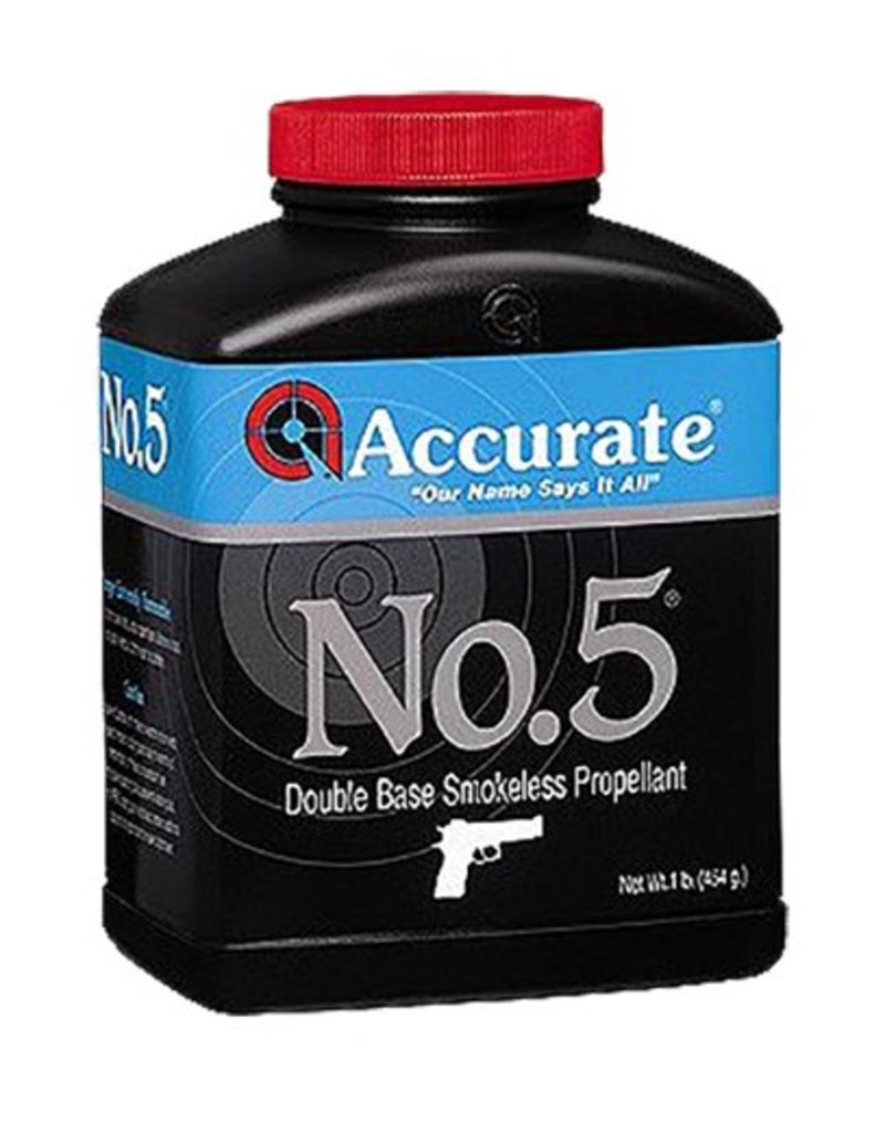 ACCURATE Accurate No. 5 Pistol Powder 1 LB