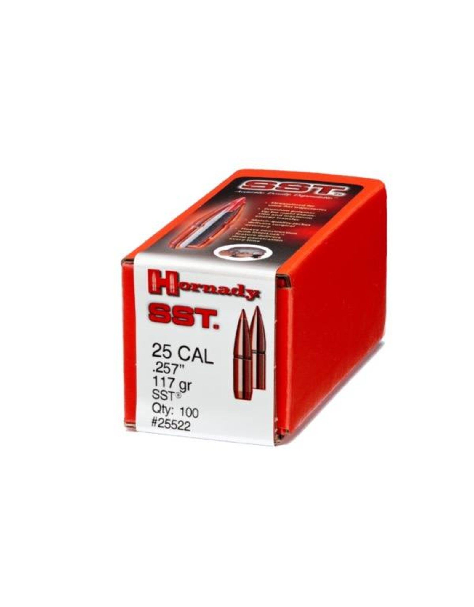 """Hornady Hornady SST Bullets .25 cal (.257"""") 117 gr"""