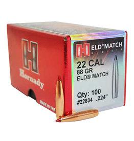 Hornady ELD Match .22 Cal 88 gr 100 Count