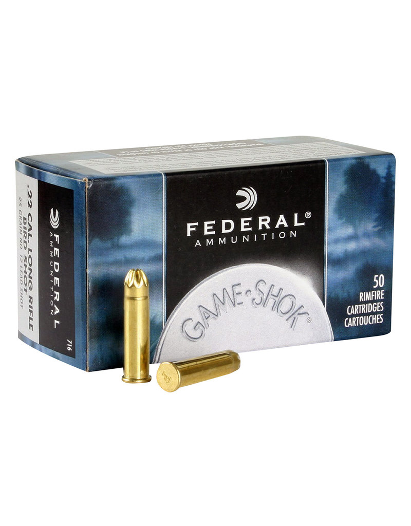 FEDERAL - STANDARD CAT Federal .22LR Bird Shot 25 Gr