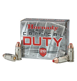 Hornady Critical Duty 9MM 135GR     (25)