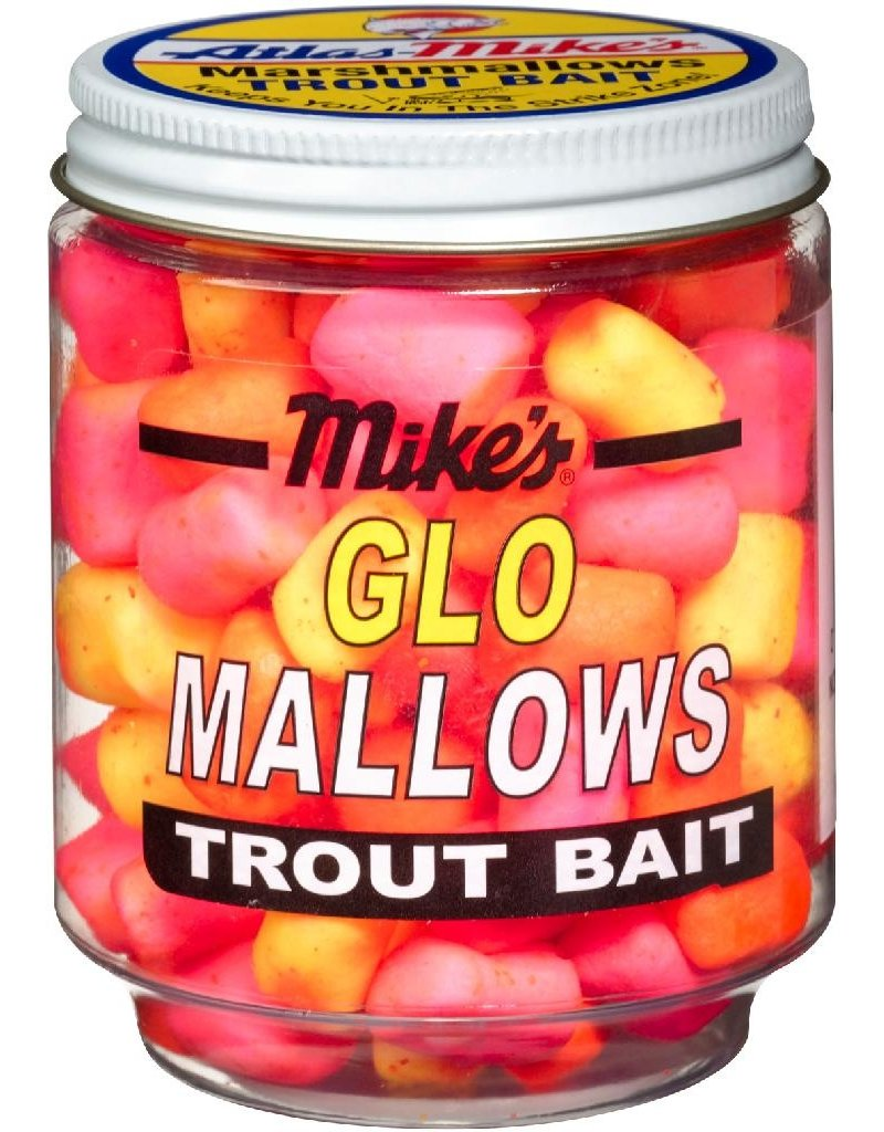 Mike's Mike's Glo Mallows Assorted/Cheese 1.5oz Jar