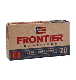 Hornady Frontier .223 Rem 55 Gr FMJ - 20 Count