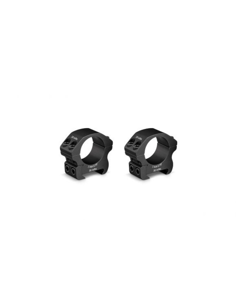 """Vortex Rifle Scope Rings - Pro Series 1"""" Med Height"""