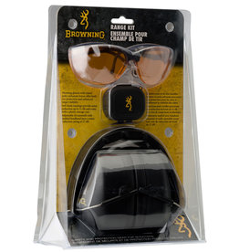 Browning Browning Range Kit w/ Earmuffs, Plugs, and Glasses